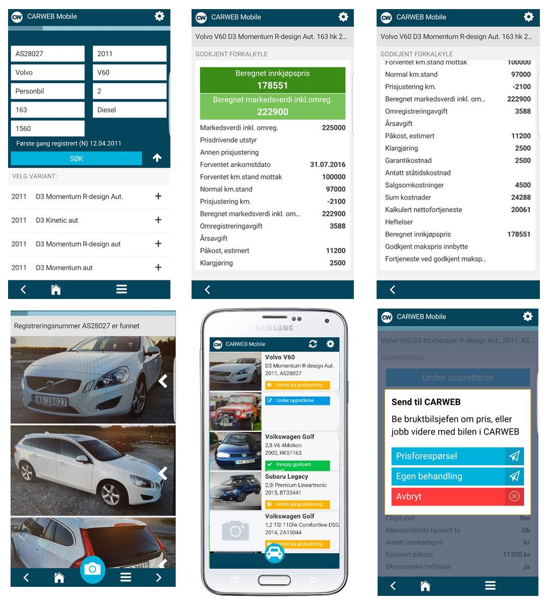 carweb-mobil